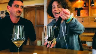 Wine with Class - Champagne Maker Shows How to Open Bubbly like a Pro