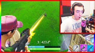 This LEGENDARY WEAPON is Overpowered! (New Fortnite