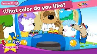Bài 23_ (B) màu gì làm bạn như thế nào? - Cartoon Câu chuyện