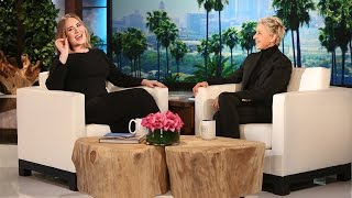 Adele Gets Candid with Ellen - Video Youtube