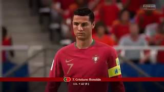 FIFA18 Gamer  Ps4 WORLD CUP Portugal vs Spain
