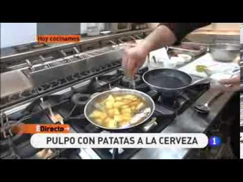 Receta de Pulpo con patatas a la cerveza   ED