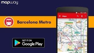 Barcelona Metro - Mapway