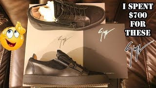 I SPENT $700 FOR THESE !!! (GIUSEPPE ZANOTTI) REVIEW
