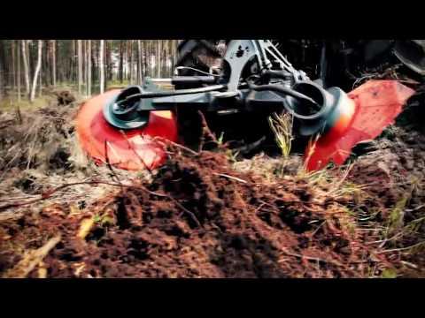 Болотные Монстры: Мега Трактор Бракке Т26 - Дисковый Траншеекопатель