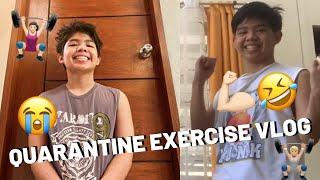 Quarantine Exercise Vlog | JER NNIE