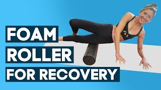 Foam Roller Stretches For Recovery (Full-Body Self Massage Exercise) With Pretty Little Thing Active