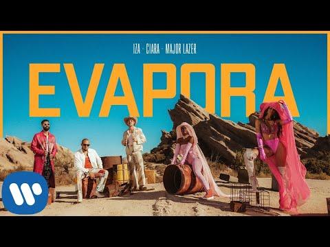 IZA, Ciara and Major Lazer se unen para 'Evapora'