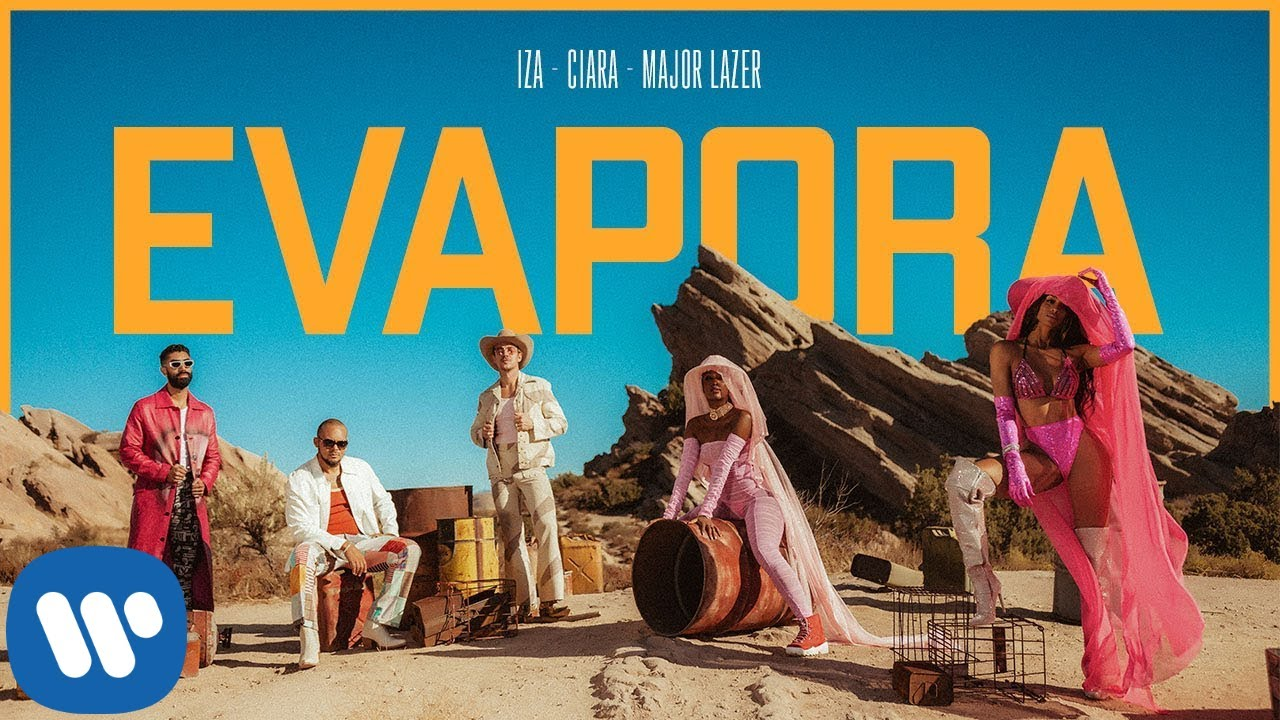 IZA, Ciara and Major Lazer — Evapora
