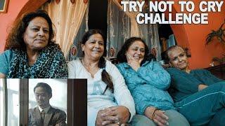 TRY NOT TO CRY CHALLENGE   ठुलाबडासँग गफगाफ