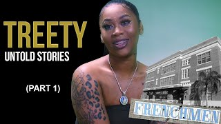 Treety on Growing Up in the 7th Ward, Making of Drop Offs, Her First Show For $150, & More. (Part 1)