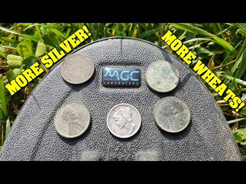 Metal Detecting:  EVEN MORE SILVER! - Magic 5x8 and Fisher F75+