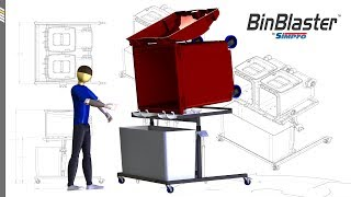 Simpro BinBlaster™ - Hydro-powered wheelie bin washer