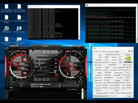 184+ m/h Ethereum mining on 1070 GTX - ROI 3 months on current
