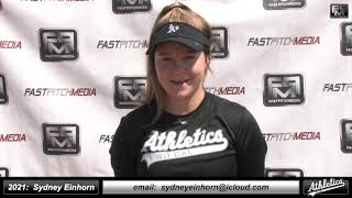 2021 Sydney Einhorn - 3.94 GPA - Athletic Third Base Softball Skills Video - Socal Athletics Briggs