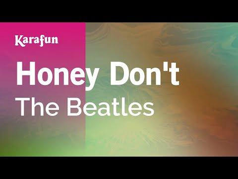 Karaoke Honey Don't - The Beatles *