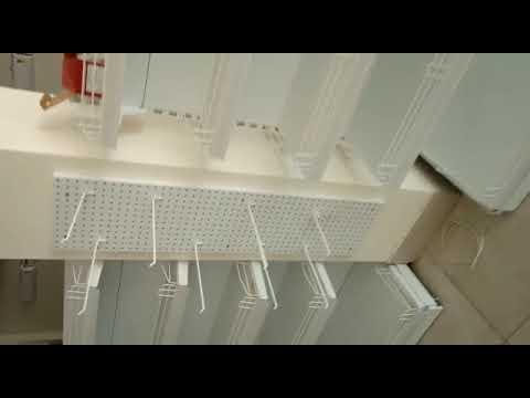 Double Sided Supermarket Rack