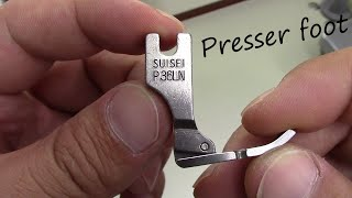 Presser Foot Used By The Japanese Sewing Factory!!
