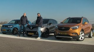 ANWB Triotest Opel Mokka X vs. Renault Captur en Suzuki Ignis 2017