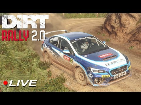 Going Faster - Dirt Rally 2.0 Experience and Career Walkthrough #8 | Live