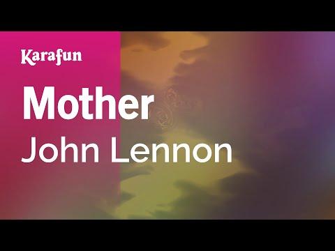 Mother - John Lennon | Karaoke Version | KaraFun