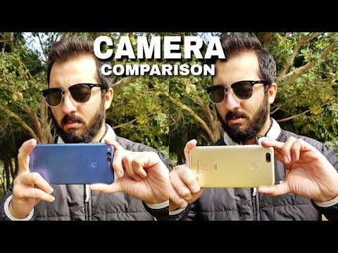 Honor 7X vs Mi A1 Camera Comparison | Honor 7X Camera Review | Xiaomi Mi A1 Camera Review