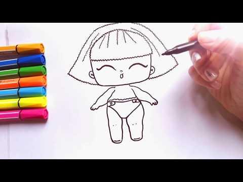 How to Draw #LOL DOLL last series | Lol Surprise Doll drawing | Куклы Лол Последняя Серия