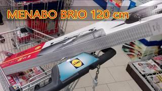 Menabo Aluminium Relingträger Brio
