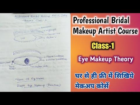 Class-1|Professional Bridal Makeup Artist Course Series|Eye Makeup Theory