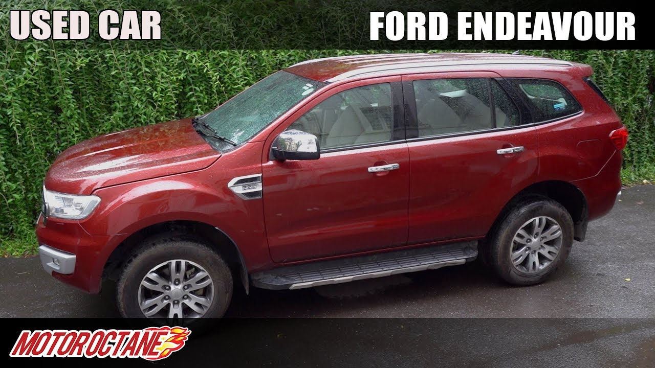 Motoroctane Youtube Video - How to buy a used Ford Endeavour | Hindi | MotorOctane