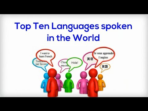 Search Result Youtube Video Successcdseducation - Top 10 speaking languages