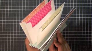 SAF 2012: Envelope Mini Book Tutorial