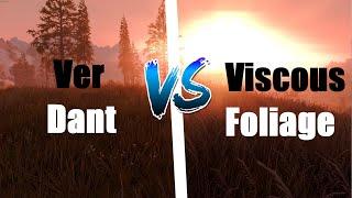 Skyrim Special Edition, Verdant vs Viscous Foliage Quick MOD Comparison