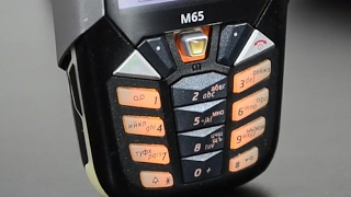 Siemens M65, 2004 год, (обзор в  2017) / Арстайл /