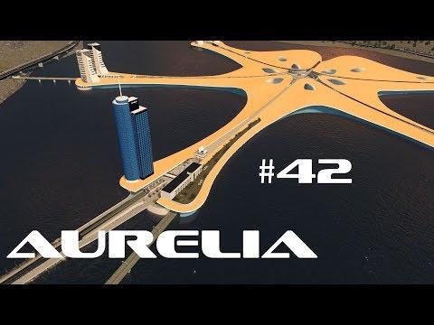 Entrance to Island City - Cities: Skylines - Aurelia #42