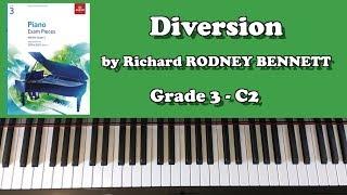 ABRSM Grade 3 Piano (2019 & 2020): C2 - RODNEY BENNETT Diversion