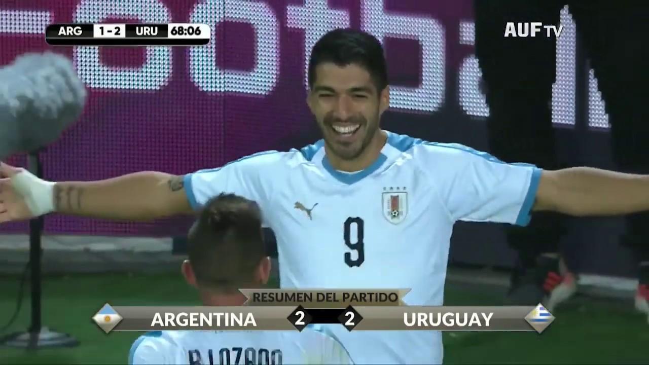 Uruguay 2 - 2 Argentina (18/11/2019)