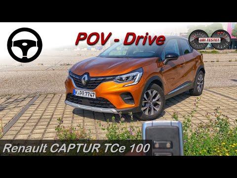 Renault Captur TCe100 Experience | POV - Test - Test Drive