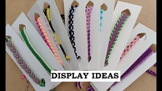 How To Make A Low Cost Display For Handmade Bracelets [for Craft Stalls/Fairs/Gifts Etc]