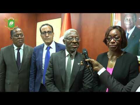 Audience du Ministre de l'Economie et des Finances