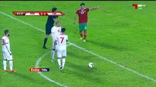 Marokko - Tunesië 1-0 (Highlights/Samenvatting)