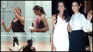 దీపికా పదుకొనే Vs పీవీ సింధు | Deepika Padukone Would've Become Top Badminton Player, Says PV Sindhu
