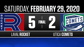Rocket vs. Comets | Feb. 29, 2020