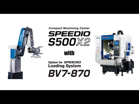 S500X2 + BV7-870 デモ動画