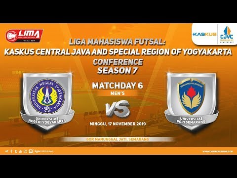 Men's UNY vs UPGRIS LIMA Futsal: Kaskus CJYC Season 7