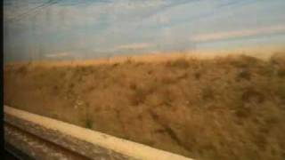 preview picture of video 'High speed train travel in France - TGV'