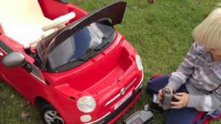 Akumuliatorinis automobilis 6V   Fiat 500 S   Peg Perego IGED1171