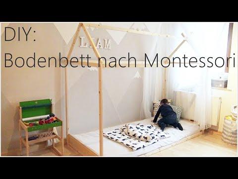 DIY - Bodenbett / Hausbett nach Montessori I Bauanleitung & Tipps