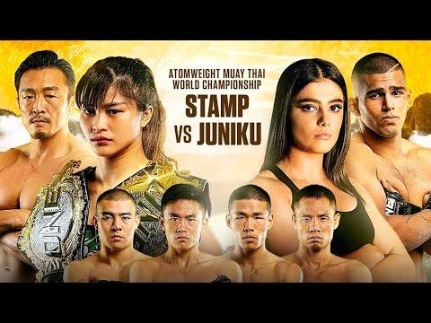 Stamp Fairtex vs. Alma Juniku Headlines ONE: LEGENDARY QUEST   2019 In Review