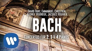 David Fray records Bach concertos for 2, 3 & 4 pianos